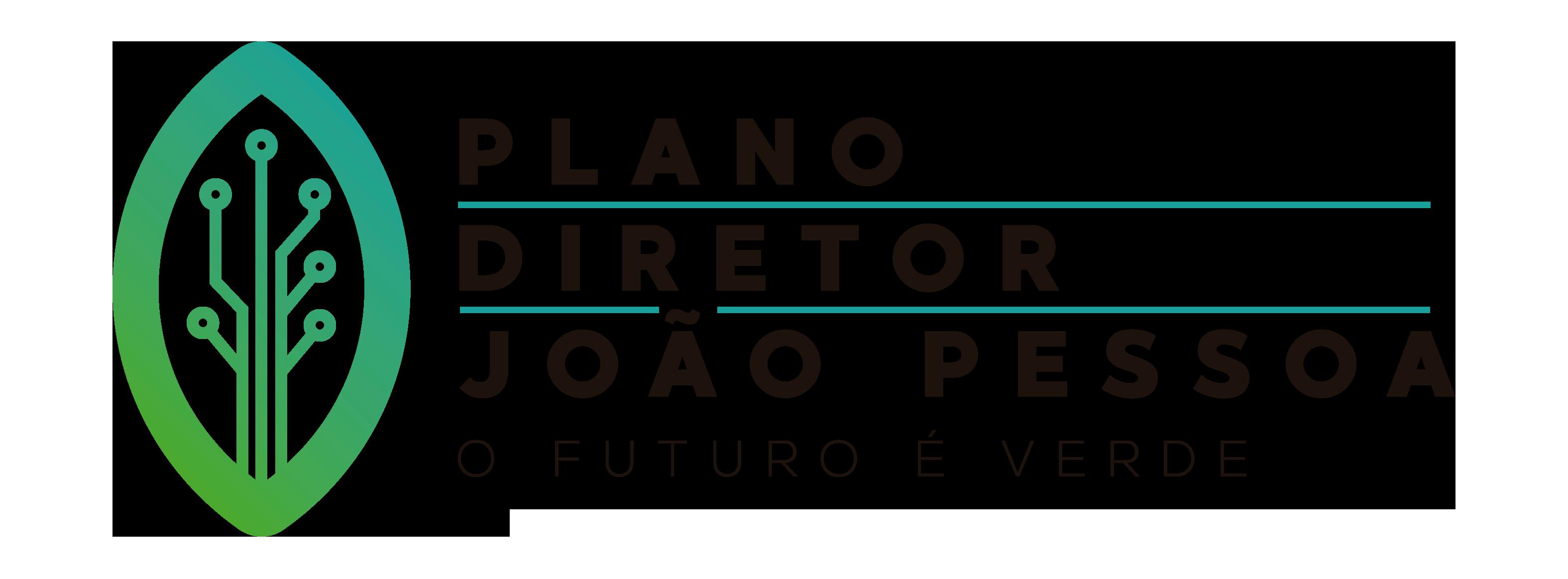 Logomarca da revisão do Plano Diretor de João Pessoa